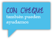 Donar cheques